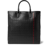 Mosaico Leather Tote Bag