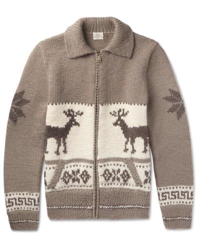 Fair Isle Wool And Alpaca-blend Cardigan