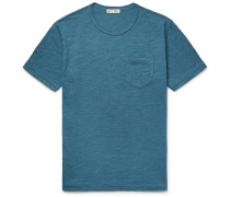 Mélange Slub Cotton-jersey T-shirt