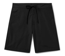 Slim-Fit Cotton and Nylon-Blend Drawstring Shorts