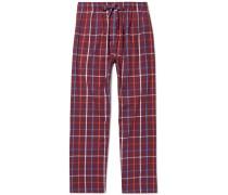 Ranga Checked Cotton Pyjama Trousers