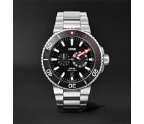 Aquis Regulateur Der Meistertaucher Automatic 43.5mm Titanium Watch, Ref. No. 01 749 7734 7154-Set
