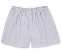 Striped Cotton Boxer Shorts