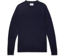 Sigfred Merino Wool Sweater - Navy