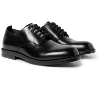 College Polished-Leather Derby Shoes