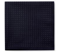 Polka-Dot Cotton Pocket Square