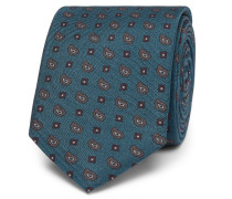 6cm Silk-jacquard Tie - Navy