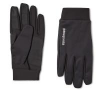 Logo-Print Wind Shield Gloves