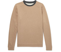 Robin Fleece-back Cotton-jersey Sweatshirt - Tan