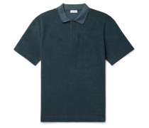 Organic Cotton-Terry Polo Shirt