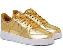 Air Force 1 SP Metallic Patent-Leather Sneakers