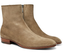 Wyatt Brushed-suede Boots