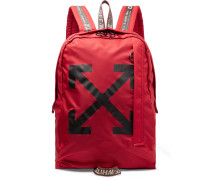 Easy Logo-Print Canvas Backpack