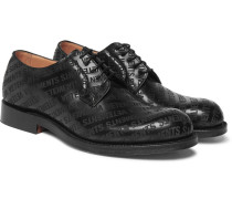 + Church's Logo-embossed Leather Derby Shoes