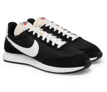 Air Tailwind 79 Mesh, Suede And Leather Sneakers - Black