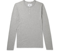 Cotton-Jersey Henley T-Shirt