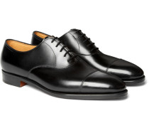 City Ii Leather Oxford Shoes - Black