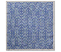 Printed Cotton-Voile Pocket Square
