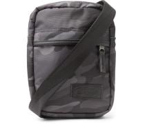 The One Camouflage-print Nylon Messenger Bag - Gray