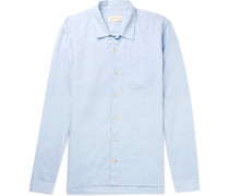 Cotton And Linen-blend Shirt