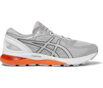 Gel-nimbus 21 Mesh Sneakers - Gray