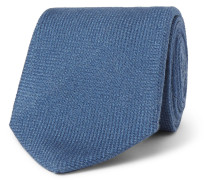 8cm Wool, Silk And Cashmere-blend Tie - Blue