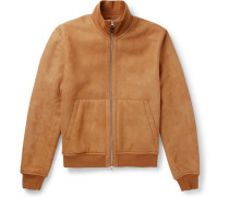 Shearling Blouson Jacket