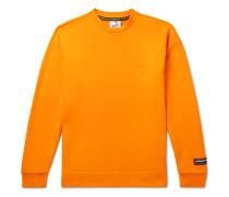 SPEZIAL Logo-Flocked Loopback Cotton-Jersey Sweatshirt