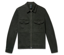 Stretch-cotton Twill Jacket