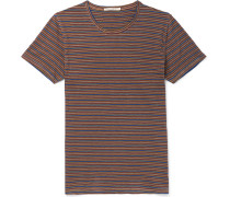 Anders Striped Organic Cotton-jersey T-shirt