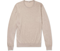 Cashmere And Silk-blend Sweater