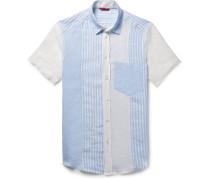 Patchwork Linen Shirt