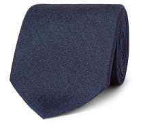 8cm Metallic Silk-jacquard Tie - Blue