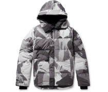 Macmillan Camouflage-print Quilted Shell Hooded Down Parka