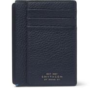 Burlington Full-grain Leather Cardholder - Navy