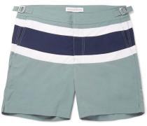 Bulldog Mid-length Panelled Swim Shorts