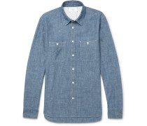 Selvedge Cotton-chambray Shirt
