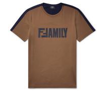 Slim-fit Logo-print Cotton-jersey T-shirt