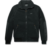 Nylon-Trimmed Polartec Thermal Pro Fleece Jacket