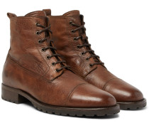 Alperton 2.0 Burnished-leather Boots - Brown