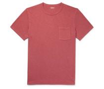 Garment-Dyed Slub Cotton-Jersey T-Shirt
