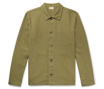 Cotton-Canvas Chore Jacket