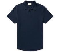Hawthorn Organic Stretch-Cotton Seersucker Polo Shirt