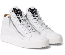 Kriss Leather High-top Sneakers