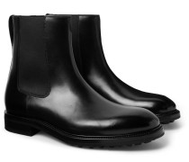 Stuart Leather Chelsea Boots