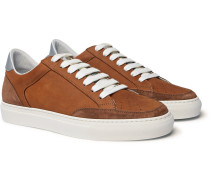 Apollo Nubuck, Suede And Leather Sneakers