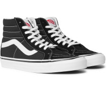 Anaheim Factory Sk8-hi 38 Dx Suede-trimmed Canvas High-top Sneakers