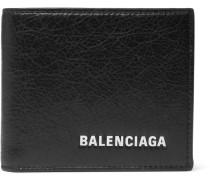 Arena Logo-print Creased-leather Billfold Wallet