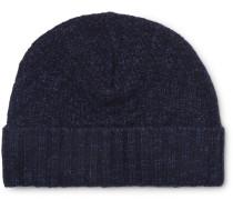 Arbury Wool Beanie - Navy