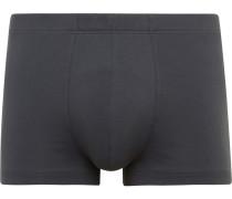 Stretch-cotton Boxer Briefs - Gray